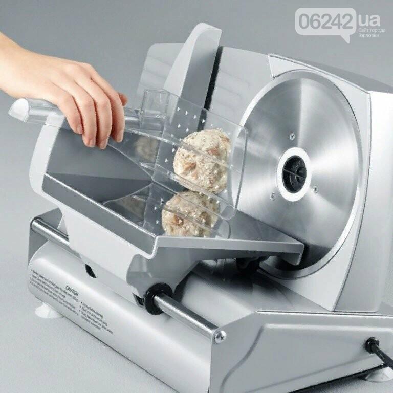 Слайсер (ломтерезка) - профессиональная нарезка продуктов без хлопот, фото-2